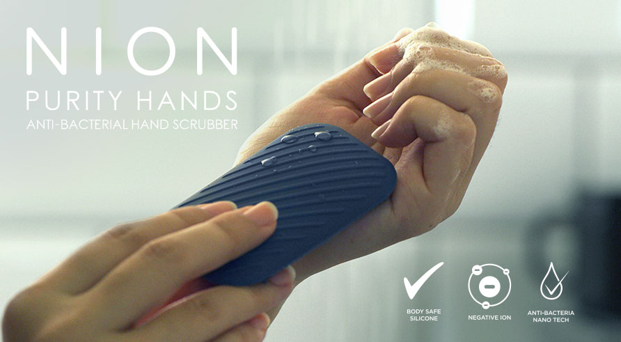 NION LAUNCH ITS PURITY HAND SRUBBER ON INDIEGOGO